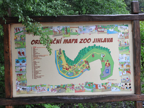Zoo Jihlava Signage By Category Map